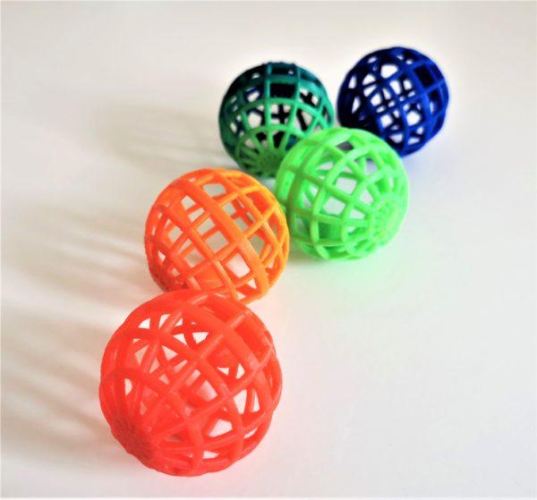 balles couleur