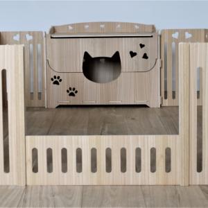parc à chaton Praline